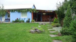 Terasa a záhrada